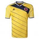 Áo bóng đá tuyển Colombia sân nhà World Cup 2014
