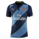 Đồng phục Arsenal xanh 2014 2015