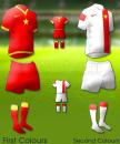 Áo thi đấu không logo Vietnam 2014 2015