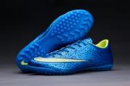 Giày sân cỏ nhân tạo Nike Mercurial Vapor 10 xanh bích