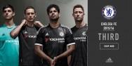Áo thi đấu Chelsea đen cúp C1 2015 2016