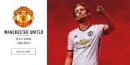 Áo bóng đá Manchester United trắng 2016 2017