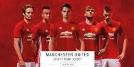 Áo bóng đá Manchester United đỏ 2016 2017
